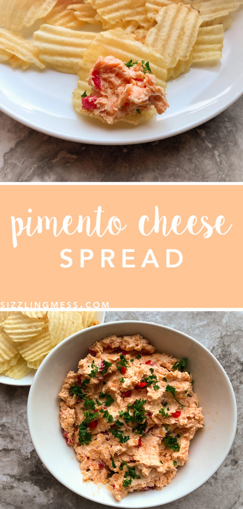 Pimento Cheese Spread, gluten free party appetizer. Keto snack.