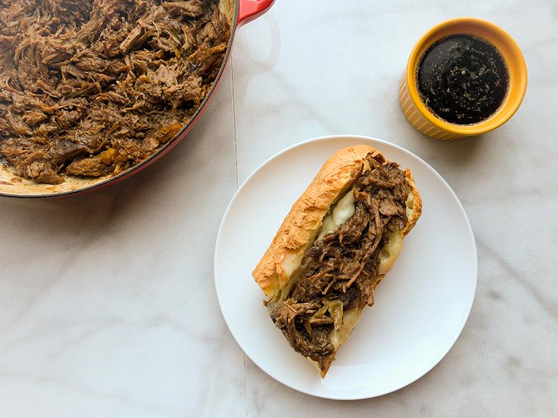 Mississippi Drip Beef Sandwiches