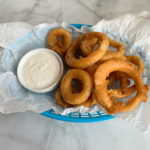 Gluten Free Beer-Battered Onion Rings
